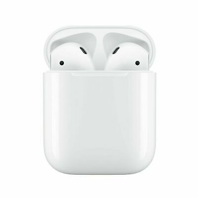 NEW Apple AirPods 2  2nd Generation Bluetooth Headphones with Charging Case