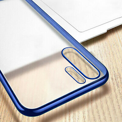 For Huawei Mate 30 20 Pro P30 P20 Lite Plating Matte Soft Transparent Case Cover