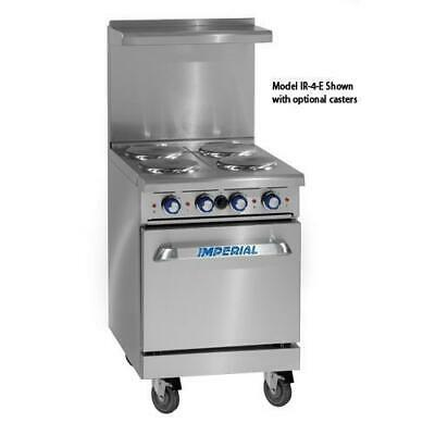 Imperial - IR-4-E - 24 in 4-Element Electric Range w/ Standard Oven