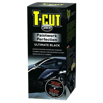 T-Cut 365 Black Paintwork Perfection Ultimate Car Paint Polish and Restorer Kit
