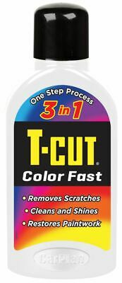 T-Cut White Color Fast 3in1 Paintwork Scratch Remover Restorer Car Polish 500ml