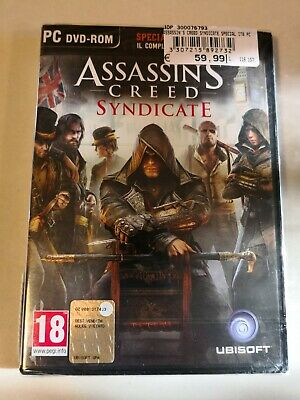 Assassin's Creed Syndicate - Gioco Nuovo Originale Pal Italiano Pc
