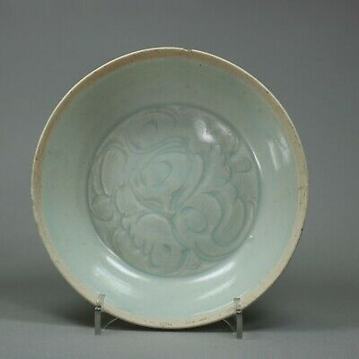 Small Chinese Qingbai dish, early Song dynasty (960-1279)