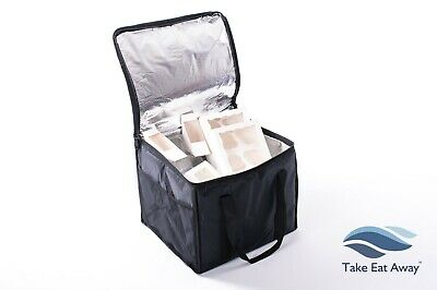 Catering Insulated Cool Bags Delivery Drivers Cold Food/Drinks Bag Deli Shop C17