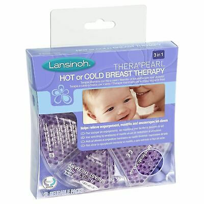Lansinoh TheraPearl 3-in-1 Hot or Cold Breast Therapy 2 Pack