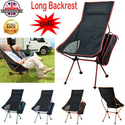 Lightweight Chair Folding Chair Camping Chair Portable Outdoor Fishing BBQ Seat