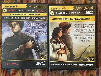 William Johnstone The Frontiersman 2 And 3 Audiobooks MP3
