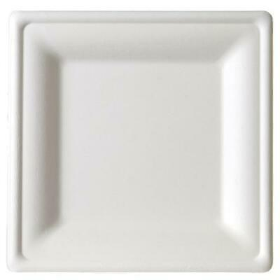 Eco-Products - EP-P023 - 10 in Square Sugarcane Plate