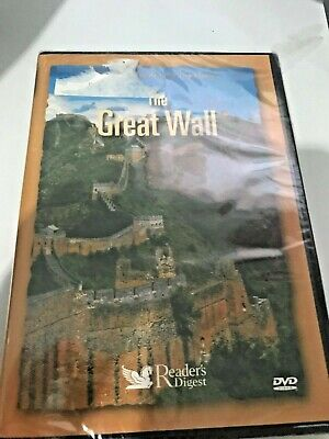 The Great wall of China, Readers Digest DVD:   sealed