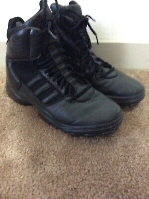 ADIDAS GSG 9.7 OLYMPIC G62307 Black Leather Tactical Boots