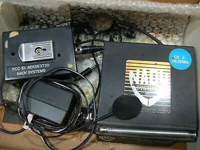 in Box...   NADY SYSTEMS 101 VHF Wireless Transmitter Receiver * Wireless Guitar