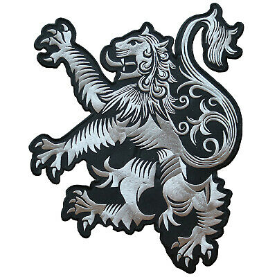 Vegasbee® Big Lion Rampant Scotland Crest Scottish Heritage Embroidered Patch 13