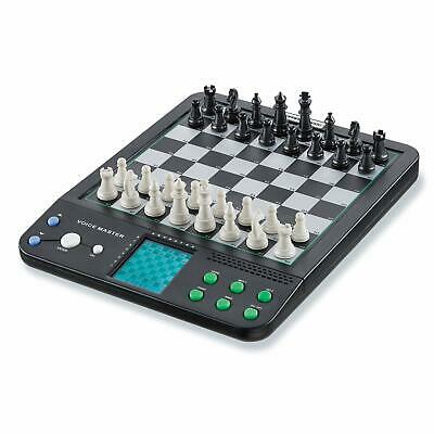 8in1 Portable Electronic Chess Checkers Set Kids Adult Family Brain Board Game