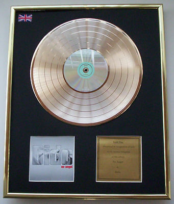 Dido   No Angel Cd Gold Disc Record Lp Display Free P&P