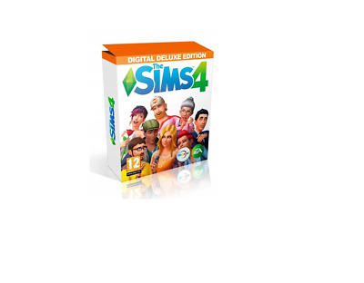 The Sims 4 PC/MAC Limited/Deluxe Edition Origin Cheapest On Ebay Digital