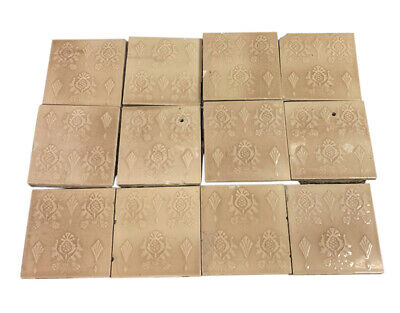Antique Cambridge Tan Decorative Tile Set