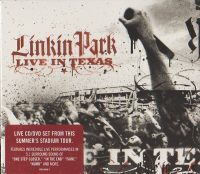 Linkin Park - Live In Texas - Live Cd/Dvd Set - Brand New & Sealed -093624863823