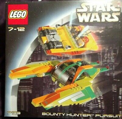 LEGO 7133 Bounty Hunter Pursuit - STAR WARS ATTACK OF THE CLONES - BNIB New
