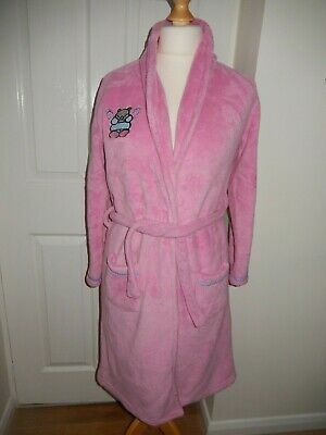 Girls Pink Dressing Gown 13Yrs