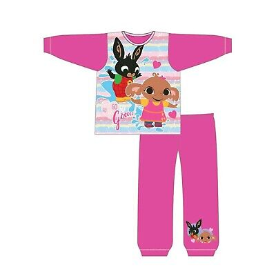 Girls Bing Pyjamas Kids Bing Sleepwear Age 18 Ms To 5 Years