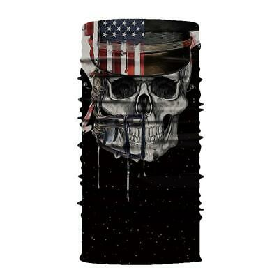 Fashion Motorcycle Bike Bicycle Riding Black Skull G HOT Half Skeleton Fing G1V2
