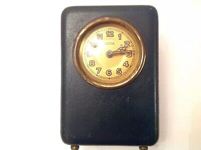 Vintage 1930's JGEHA MONEY BOX CLOCK GERMAN FOR REPAIR RESTORATION