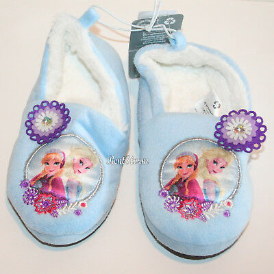 11//12 9//10 7//8 DISNEY STORE TODDLER GIRL FROZEN SLIPPERS BOOTIES