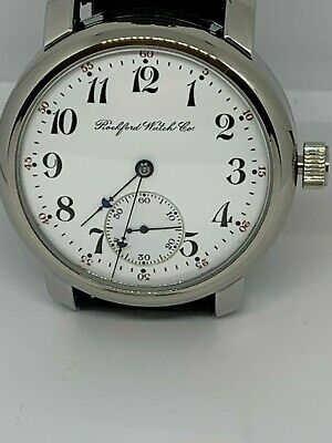 Rockford 16s 17 jewel Grade 560 pocket watch conversion Marriage watch