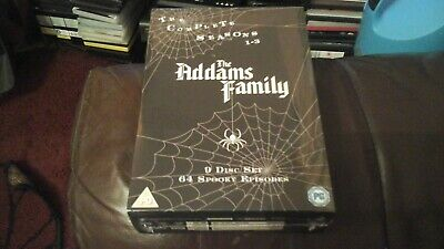 The Addams Family Series 1-3 Complete Dvd Box Set New Sealed