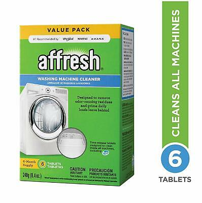 Affresh Washer Washing Machine Cleaner Remove & Prevent Odor Causing Residue