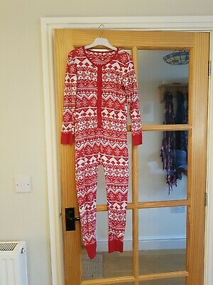 Next Girls all in one Christmas pyjamas age 9