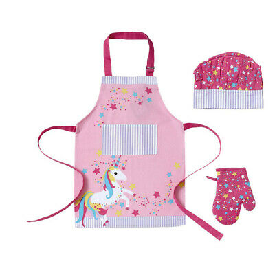 Junior Kids Chef Set Consiting of Apron /& Chefs Hat Choice of Colour
