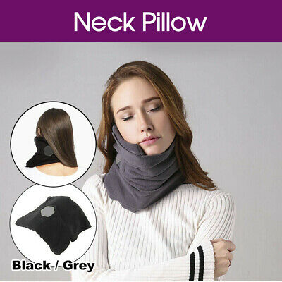 T-Pillow Sitting Nap Portable Soft Comfortable Travel Pillow Proven Neck Support