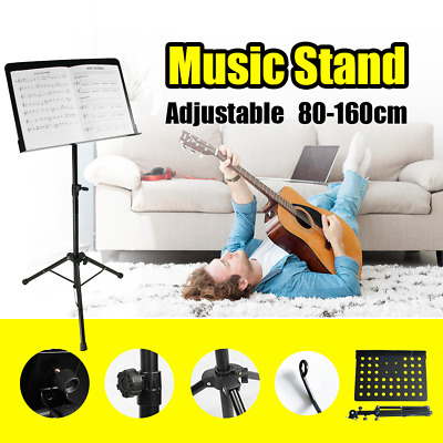 Adjustable Heavy Duty Metal Music Conductor Folding Stand Stage Music Sheet