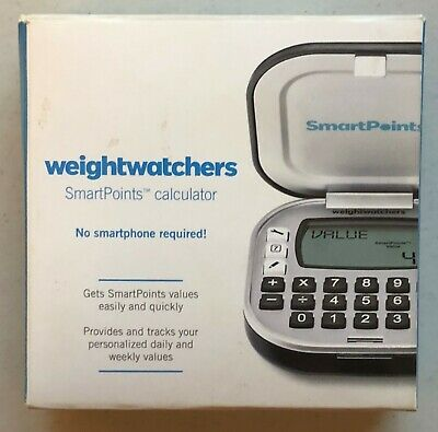 WEIGHT WATCHERS SMART POINTS Calculator Includes Battery