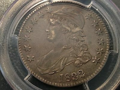 1832  Small Letters PCGS  XF-45  Capped Bust Half Dollar