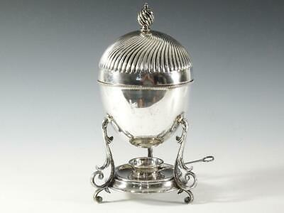 Fine English Silver Plated Egg Coddler
