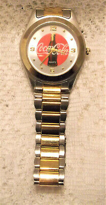 """Coca Cola Watch, 8""""x1 1/2"""", New Battery"""
