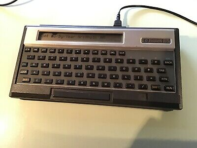 hp 75c vintage handheld computer complete with manuals and accessories.