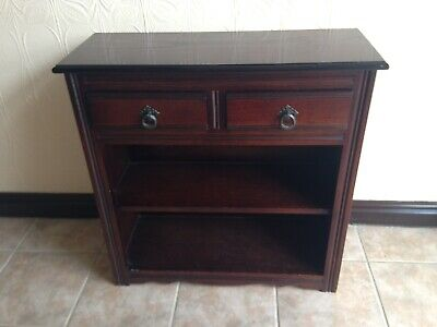 Mahogany Hall Table / Console Table with 2 drawers and a shelfs