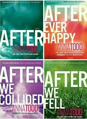 The Complete After Series Collection NEW 4 Paperback Books Set By Anna Todd