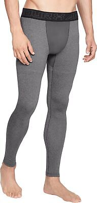 Under Armour ColdGear Mens Long Compression Tights - Grey