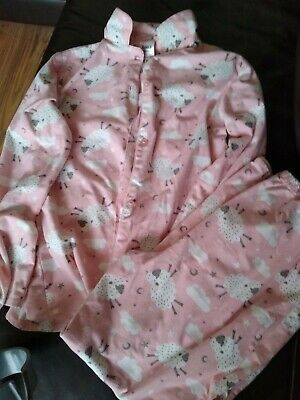 Girls Sheep Pyjamas Aged 12-13 Years