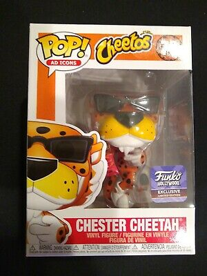 FUNKO POP AD ICON CHESTER CHEETAH  CHEETOS HOLLYWOOD STORE HQ EXCLUSIVE Limited