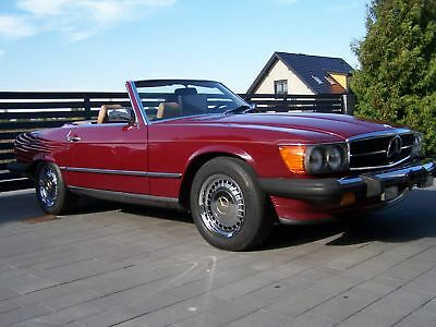 Mercedes-Benz 560 SL California Car - 1986 Vintage Car
