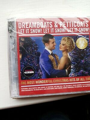 Dreamboats and Petticoats  Let It Snow! Let It  CHRISTMAS 2x C.D.new sealed
