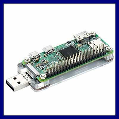 USB Dongle Expansion Breakout Module Kit For Raspberry Pi Zero/W, Both Front & B