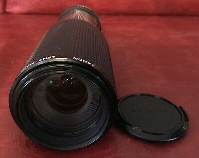 CANON FD 100-300MM F5.6 MF ZOOM LENS, Excellent