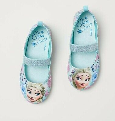 H&M Disney Frozen 2 elsa shoes flats 1 BNWT Christmas