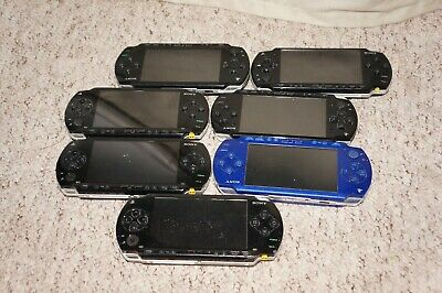-= Bundle of 7 Faulty PlayStation Portable PSP Consoles 1000  2000 =-
